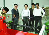 2012年浙江省農業廳副廳長趙興泉來公司調研