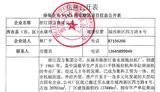 涂裝企業VOCs污染整治項目信息公開表