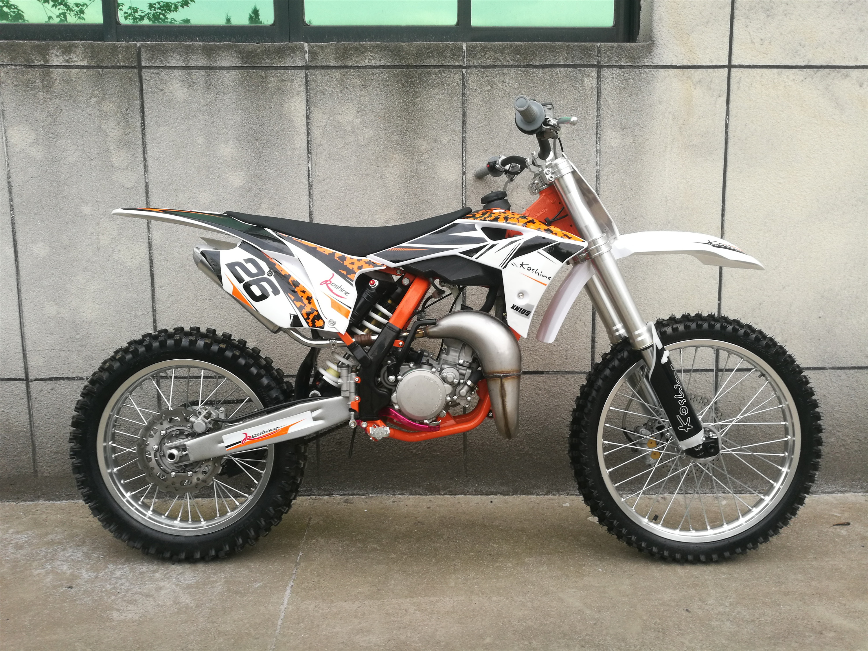 105CC Big Power Dirt Bike XN105