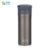 不锈钢 个性直杯 -SS-051 350ml