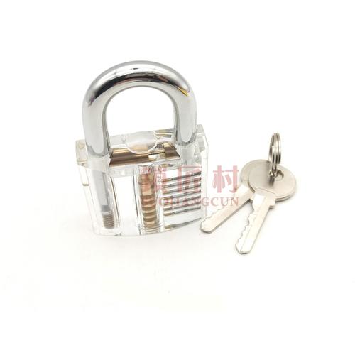 透明挂锁练功锁-