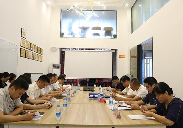 市國資委監事會主席陳朝江率考核組赴我司開展2017年度監督檢查工作