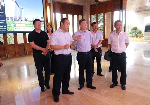 國家信息中心、國家公共信用信息中心調研組赴云港數據中心開展專題調研工作