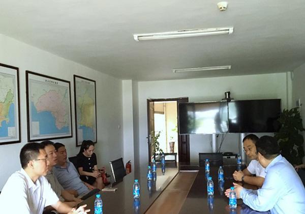 東華軟件到訪三亞云港,即將入駐園區開展教育云相關業務
