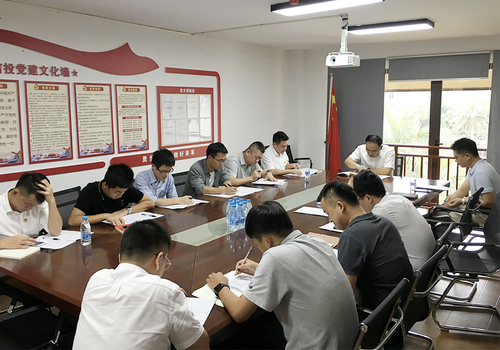 """三亞信投黨支部召開""""五法+""""專題學習會"""