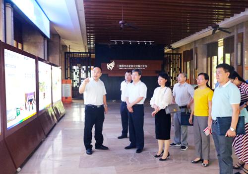 国家统计局调研组赴三亚信投公司开展调研工作