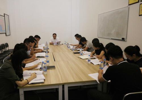 科技集团召开专题会议传达三亚市属国有企业改革重组成立大会会议精神