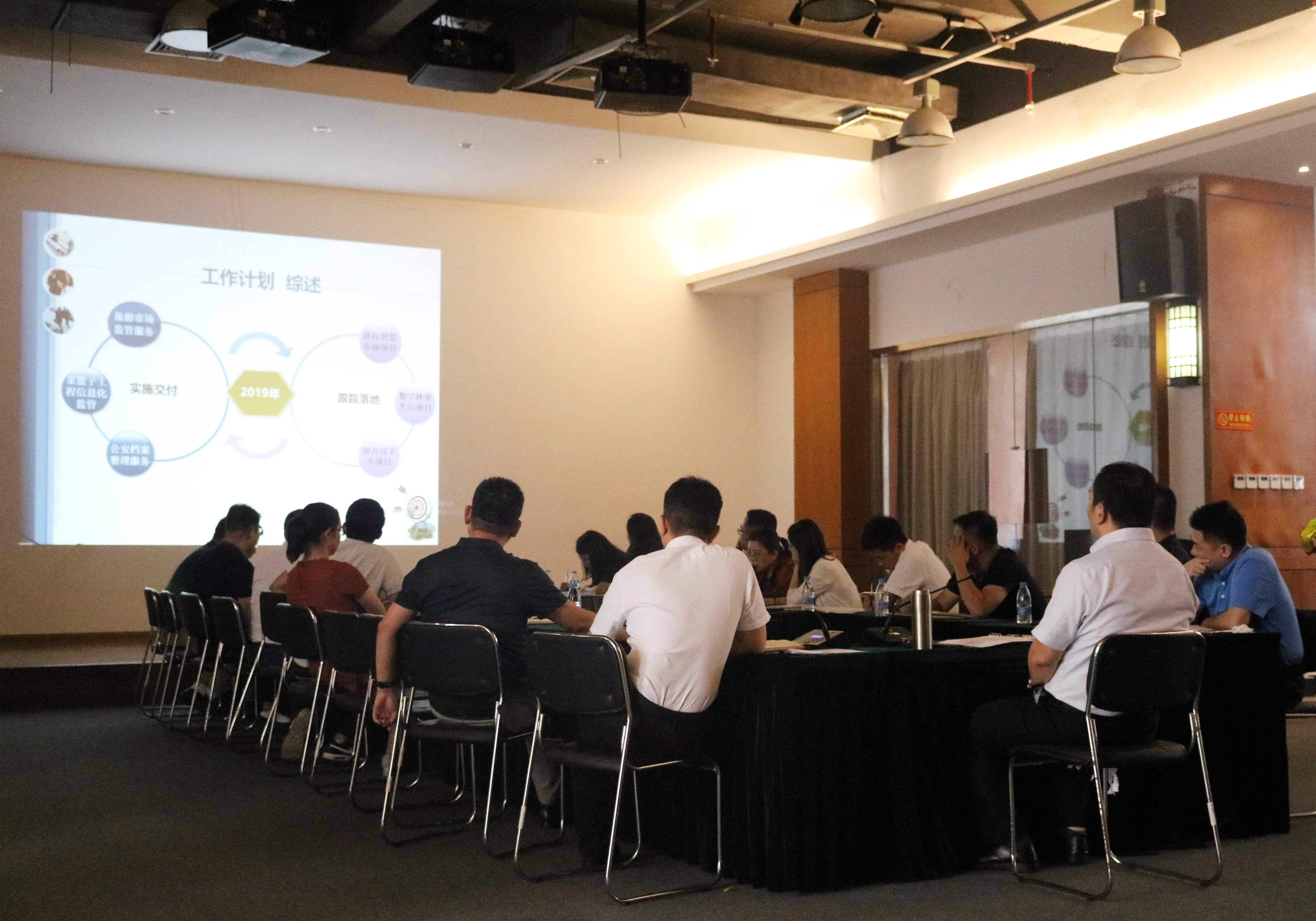 三亞信投公司召開2019年度上半年總結暨下半年工作計劃大會