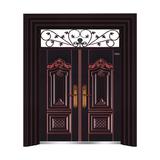 黑金红铜 -THF-8003大展宏图双开门