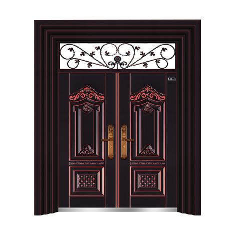 黑金红铜-THF-8003大展宏图双开门