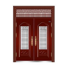 枣红金属漆-THF-8036不锈钢门中门