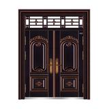 黑金黄铜 -THF-8005繁荣昌盛双开门