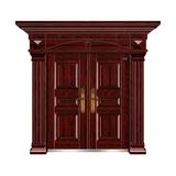红叶紫檀(手工拉木纹) -THF-8016至尊年华双开门