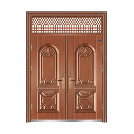 仿紫铜-THF-8033东方之珠双开门
