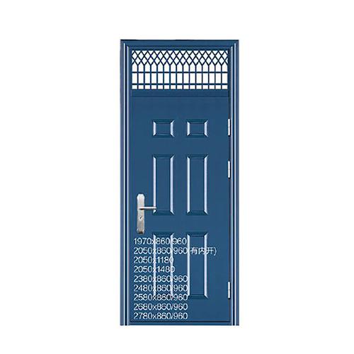 蓝灰六方-可非标定制