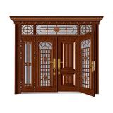 东方瑞景 -玻璃拼接复合门