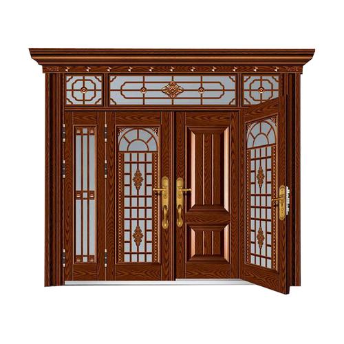 东方瑞景-玻璃拼接复合门
