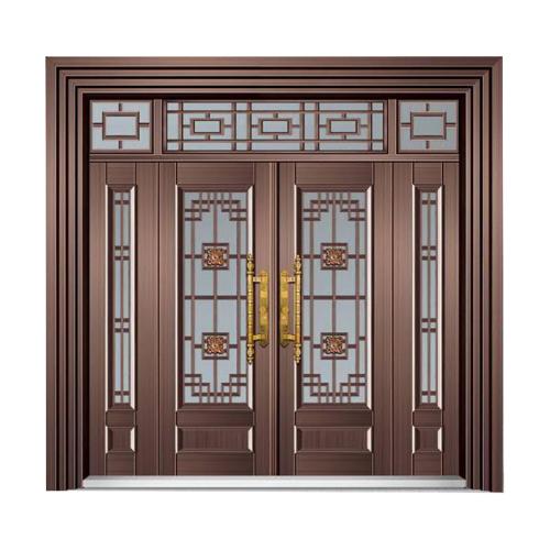 皇家精锐-玻璃拼接复合门