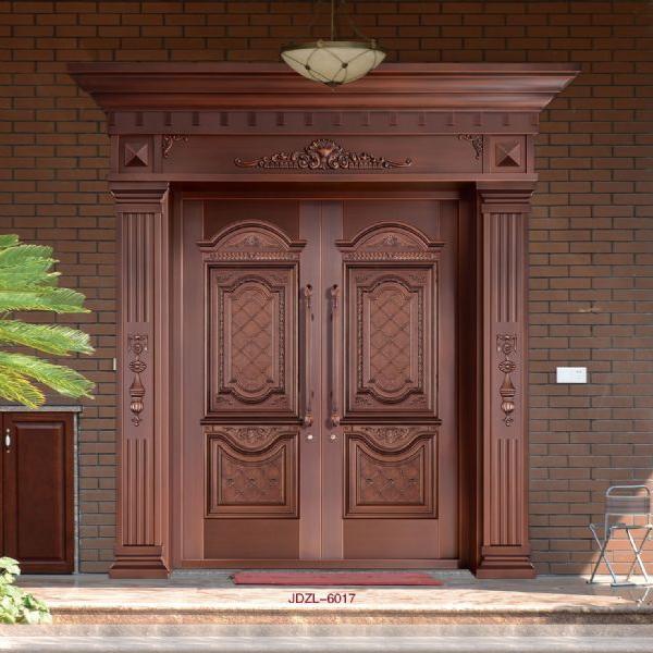 真铜门  JDZL-7031