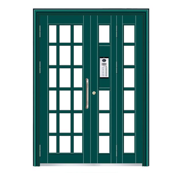 玻璃拼接楼宇对讲门 TY-9318