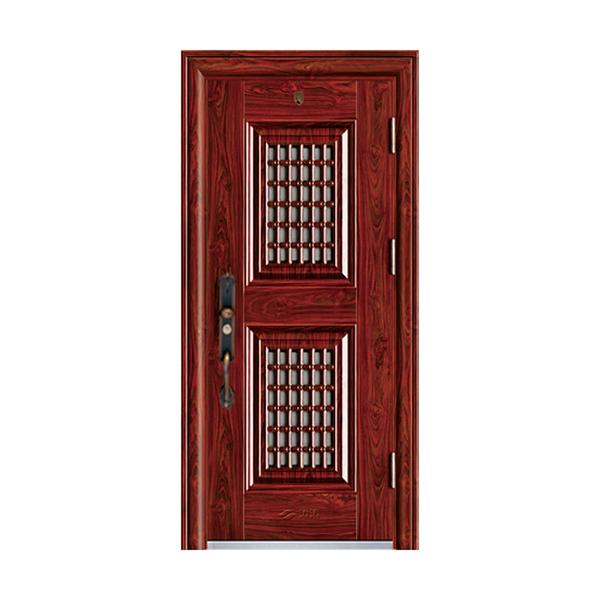精品甲级防盗门-双窗门中门