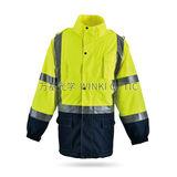 Hi-Vis 安全雨衣 -WK-J07