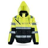 Hi-Vis 安全雨衣 -WK-J01