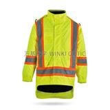 Hi-Vis 安全雨衣 -WK-J05