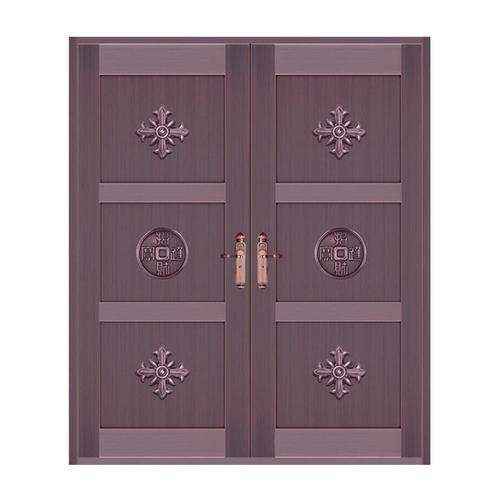 真铜2号色-铜门反面002