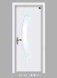 实木玻璃花窗门-HX-93(玻璃门)