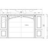 背景护墙-标准背景护墙15号