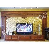 电视机背景墙-