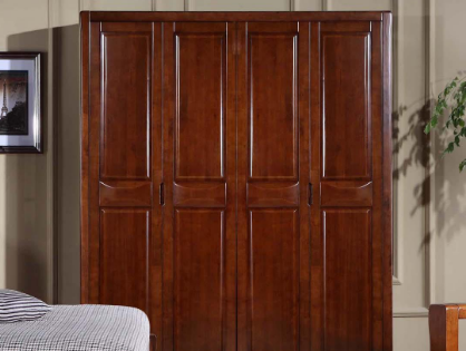 原木衣柜定制PK原木成品衣柜