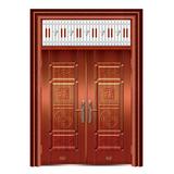 精品仿铜门 -XD-8011准红铜