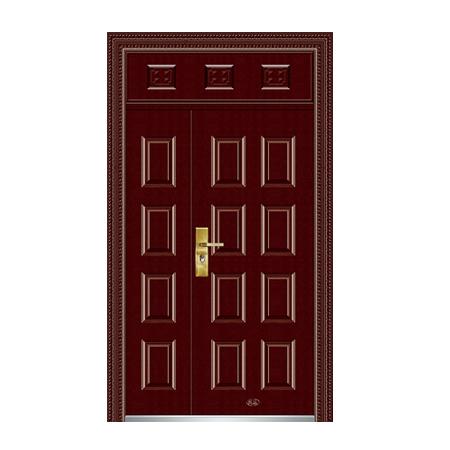 枣红金属漆|钢木室内门|钢木室内门