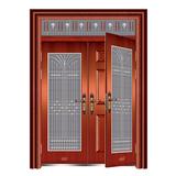 豪华准铜门系列 -XD-8059 准红铜复合门