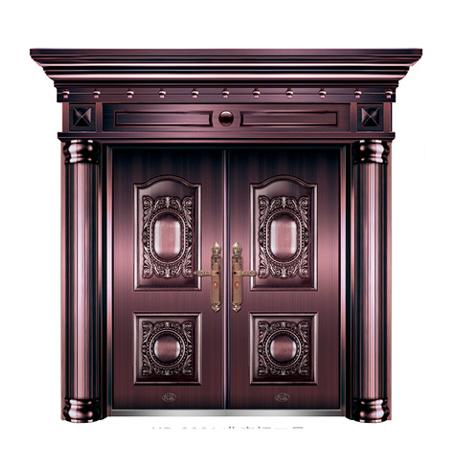 豪华准真铜门系列-XD-8001 准真铜三号