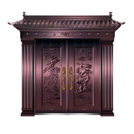 精品准铜门系列-XD-8053准真铜三号