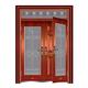 豪华准铜门系列-XD-8059 准红铜复合门