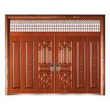 精品准铜门系列 -XD-8072准红铜