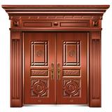 精品准铜门系列 -XD-8088准红铜