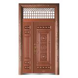 精品准铜门系列 -XD-8056准紫铜