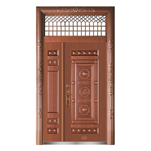 精品准铜门系列-XD-8056准紫铜