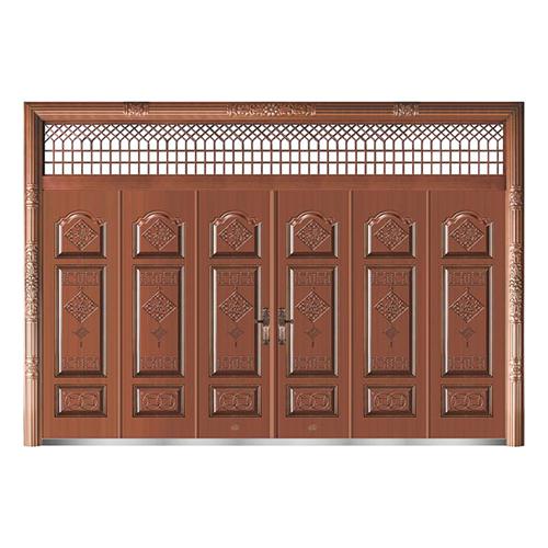 精品准铜门系列-XD-8073准紫铜