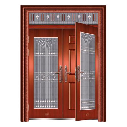 韩式木门系列-XD-8059 准红铜复合门