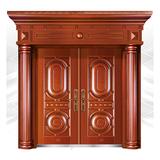 精品准铜门系列 -XD-8058准红铜