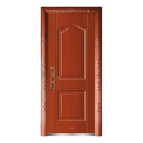 精品准铜门系列-XD-8038准红铜