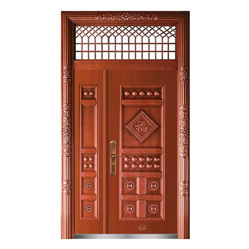 精品准铜门系列-XD-8057准红铜
