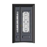 铸铝玻璃门系列 -ALD-9086