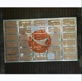 不锈钢前投后取式信报箱 -丁香花园XFY-0506